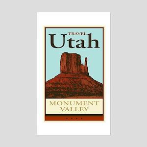 Travel Utah Rectangle Sticker