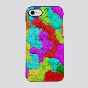 Psychedelic Glitter Pattern iPhone 7 Tough Case
