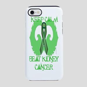 Kidney Cancer Calm iPhone 7 Tough Case