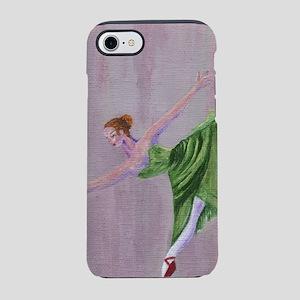 Green Ballerina iPhone 7 Tough Case