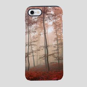 Misty Autumn Forest iPhone 7 Tough Case