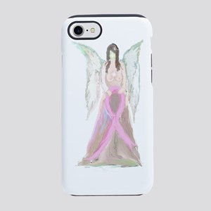 Breast Cancer Angel iPhone 7 Tough Case