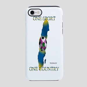 BottleOneCountrySweden iPhone 7 Tough Case