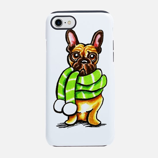 Frenchie Scarf iPhone 7 Tough Case