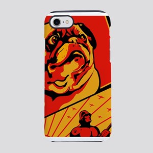 pug3_11x17_2 iPhone 7 Tough Case
