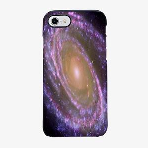 Violet Spiral Galaxy iPhone 7 Tough Case