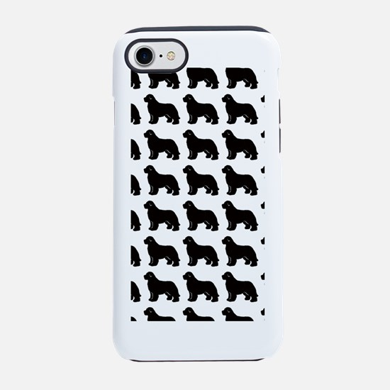 newf silhouette iPhone 7 Tough Case