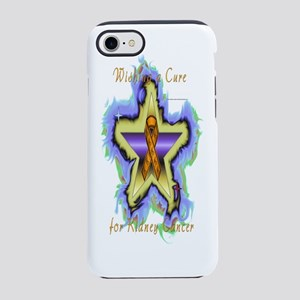 Kidney Cancer Wish Star iPhone 7 Tough Case