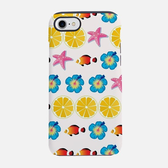 Cute pattern for kids iPhone 7 Tough Case