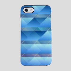 Blue plastic bars iPhone 7 Tough Case