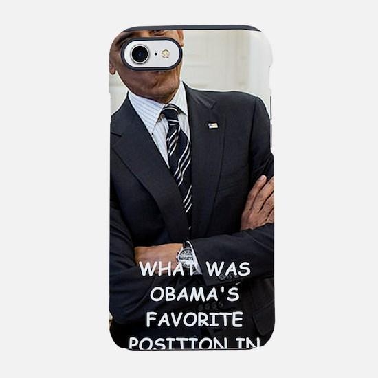 anti obama iPhone 7 Tough Case