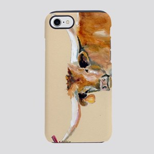 Long Horn Christmas iPhone 7 Tough Case