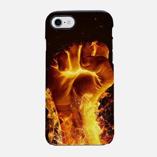 Fire Fist iPhone 7 Tough Case