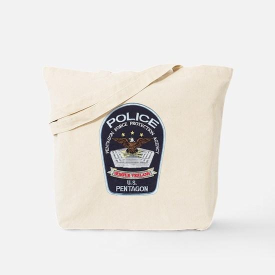 Pentagon Police Tote Bag