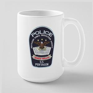 Pentagon Police Large Mug