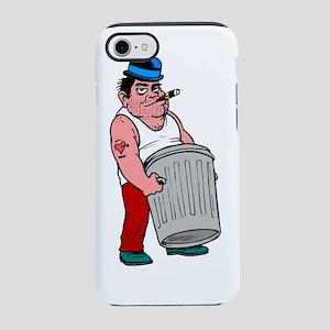 Trash Collector iPhone 7 Tough Case