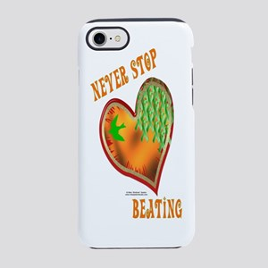 Kidney Cancer Heart iPhone 7 Tough Case