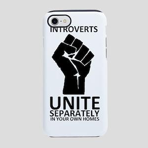 Introverts Unite 1 iPhone 7 Tough Case
