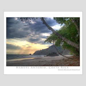 Costa Rica Beach Small Poster