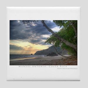Costa Rica Beach Tile Coaster