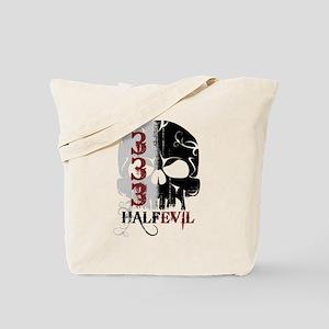 333 Half Evil Tote Bag