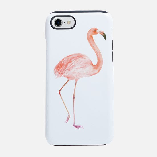 Watercolor Flamingo iPhone 7 Tough Case