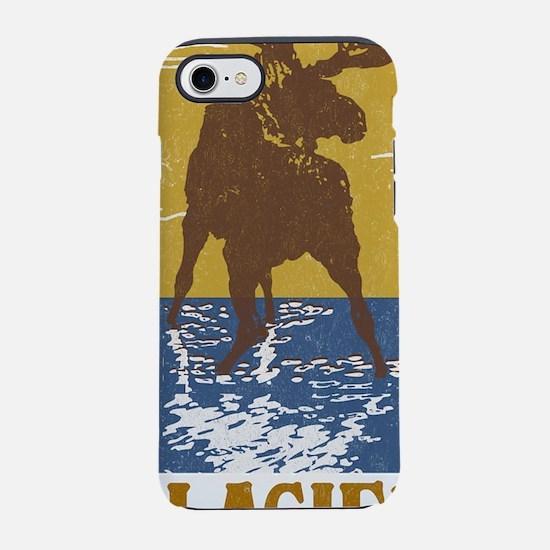 Glacier_National_Park_Moose iPhone 7 Tough Case