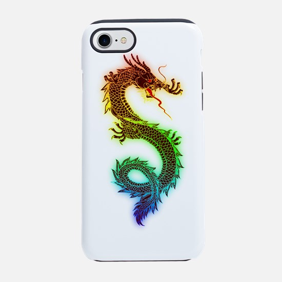 Colorful Dragon iPhone 7 Tough Case