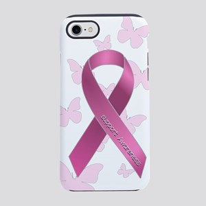 Breast Cancer Awareness Ribbon iPhone 7 Tough Case