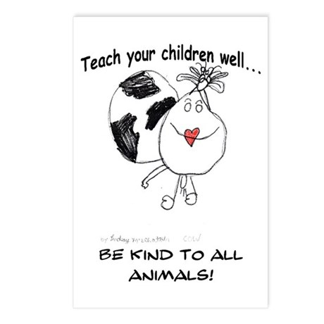 Teach your children well... Postcards (Package of