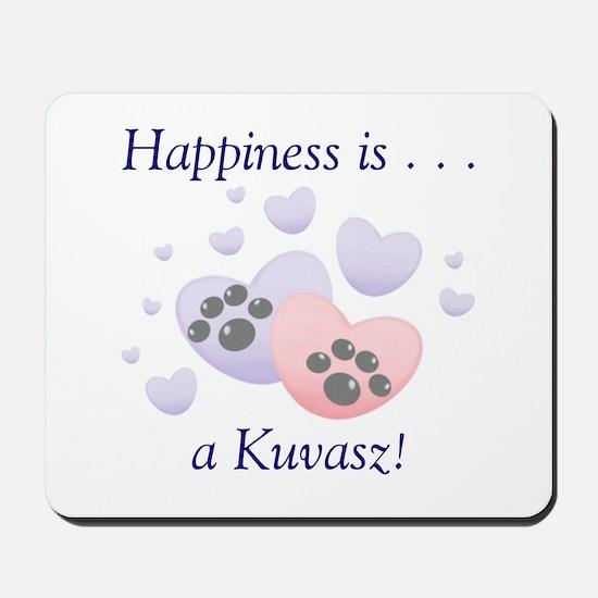 Happiness is...a Kuvasz Mousepad