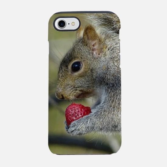 Berry nice squirrel iPhone 7 Tough Case