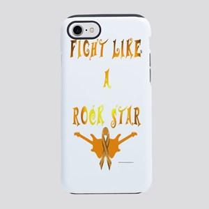 Kidney Cancer Rock Star iPhone 7 Tough Case