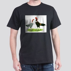 Madagascar Gamefowl Black T-Shirt