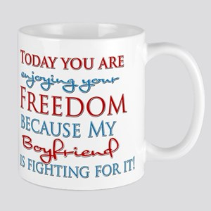 Today you are enjoying your F Mug