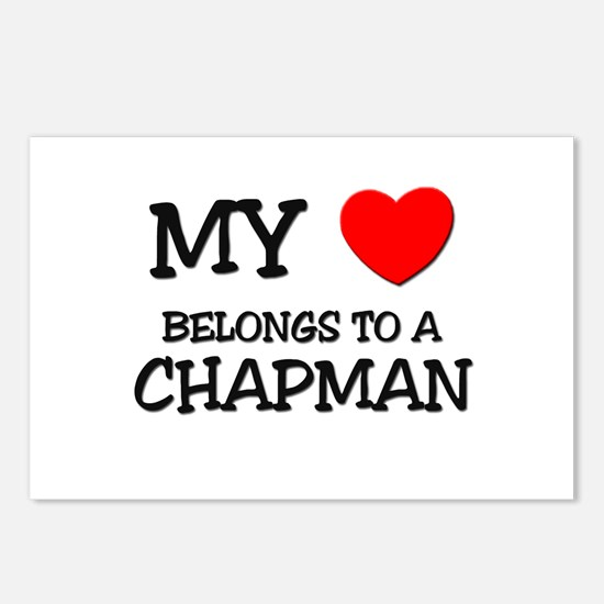 My Heart Belongs To A CHAPMAN Postcards (Package o