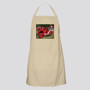 Japanese Datson fire engine BBQ Apron