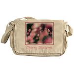 Cherry Tree Blossom Messenger Bag