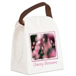 Cherry Tree Blossom Canvas Lunch Bag