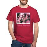 Cherry Tree Blossom Dark T-Shirt
