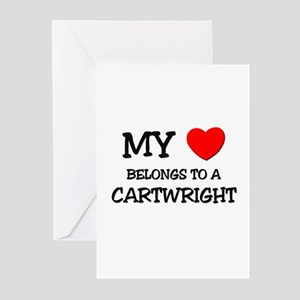 My Heart Belongs To A CARTWRIGHT Greeting Cards (P