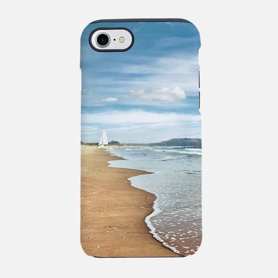 Sandy Beach iPhone 7 Tough Case