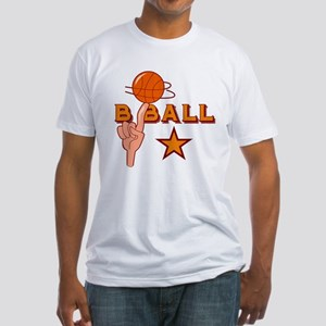 Basketball Star Fitted T-Shirt