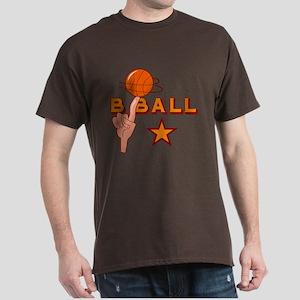 Basketball Star Dark T-Shirt
