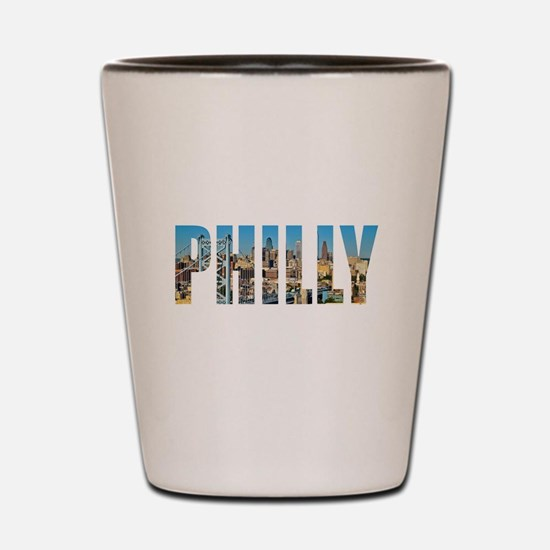Philly Shot Glass