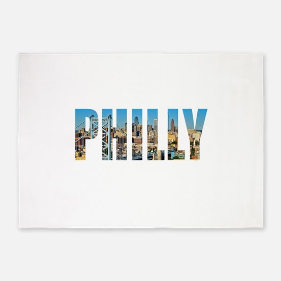 Philly 5'x7'Area Rug