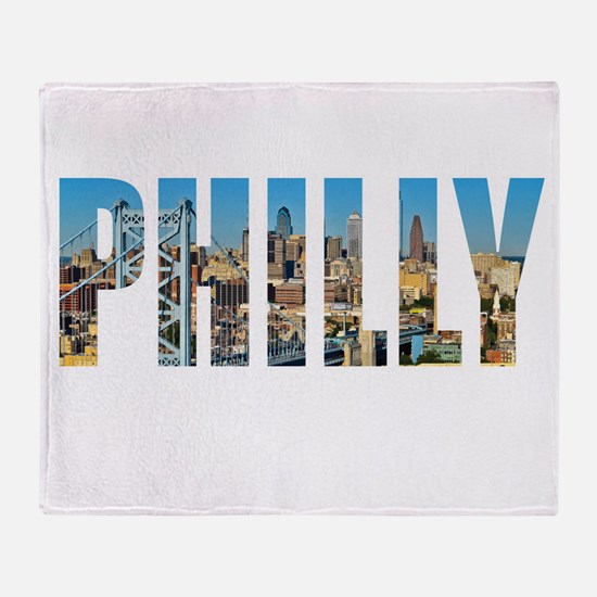 Philly Throw Blanket