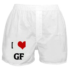 I Love GF Boxer Shorts