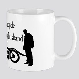 Motorcycle or Husband Mug