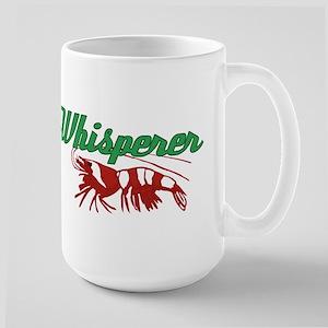 Shrimp Whisperer Large Mug
